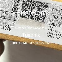 0801-040-X5U0-222M - Tusonix - 세라믹 디스크 커패시터